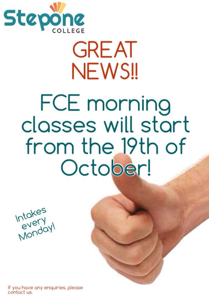 FCE-Morning